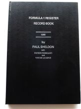 FORMULA 1 REGISTER RECORD BOOK 1966 (Sheldon/Rabagliatti)